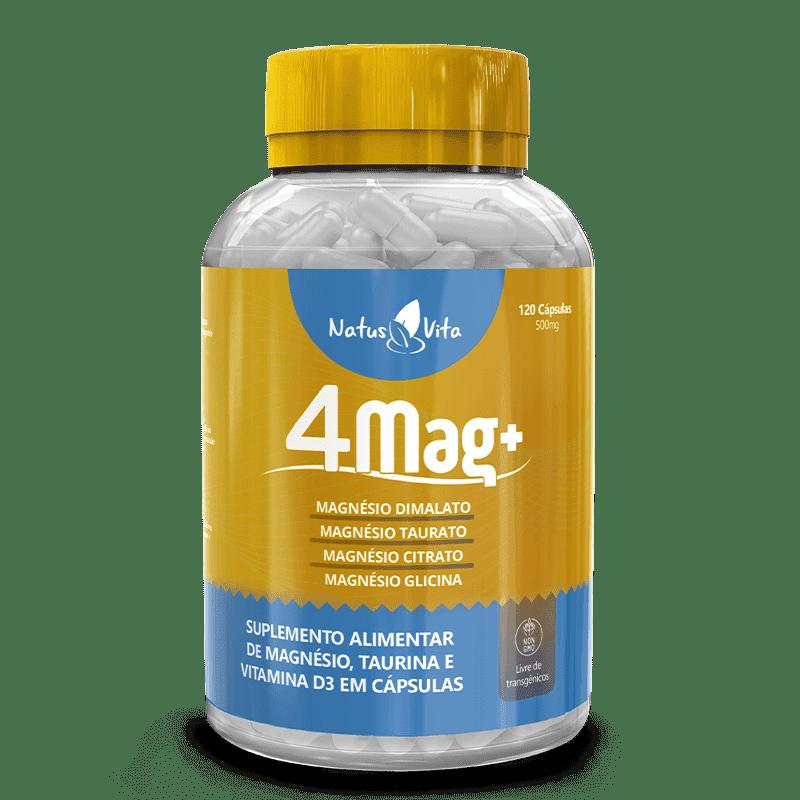 Magnésio Dimalato em cápsulas