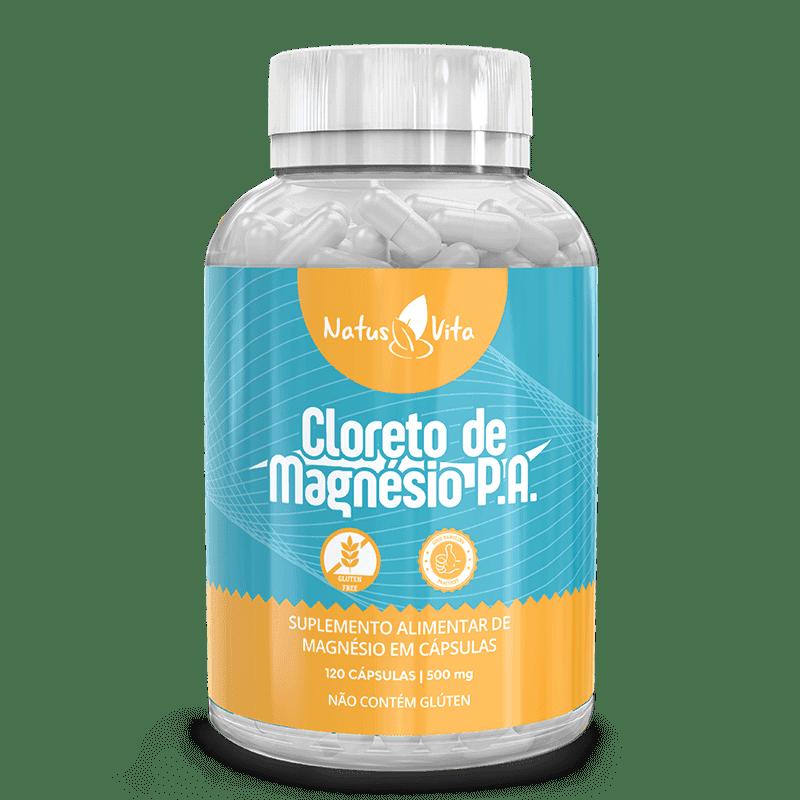 Cloreto de Magnésio em cápsulas