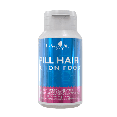 Pill Hair Action Food (Turbinado). 60 Cápsulas